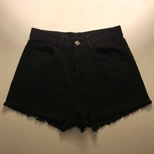 Brandy Melville Black Shorts (Worn Once!)